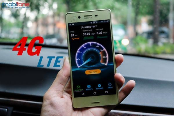 cài đặt 4G Mobifone