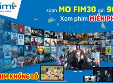 Đăng ký gói cước FIM30 Mobifone xem phim miễn phí 3G trên FIM+