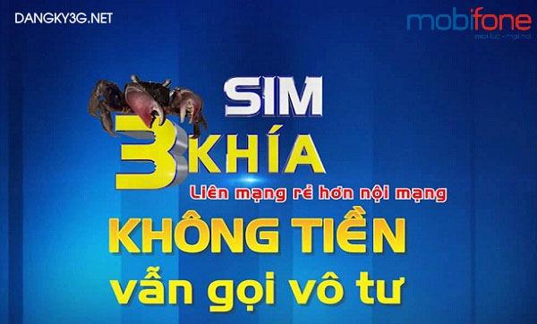 Sim Ba Khía Mobifone gọi thoại ngoại mạng siêu rẻ