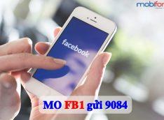 Đăng ký gói cước FB1 Mobifone - Gói Facebook Mobifone 1 ngày