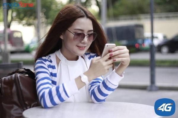 đăng ký các gói cước 4G Mobifone 1 ngày
