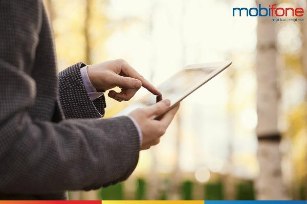 Đăng ký các gói cước 4G Fast Connect Mobifone
