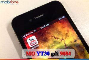 gói cước YT30 Mobifone
