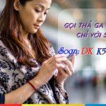 Đăng ký gói cước K50 Mobifone xả láng gọi thoại cả tháng