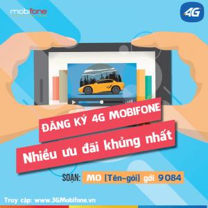 Hướng dẫn cách đăng ký 4G Mobifone mới nhất 2017