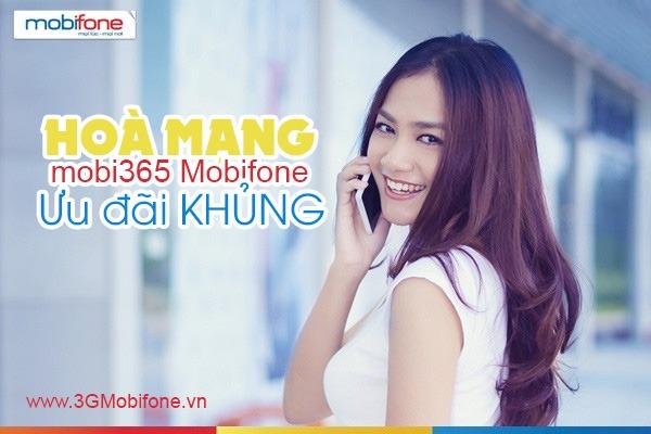Thông tin gói cước Mobi365 Mobifone ưu đãi hấp dẫn
