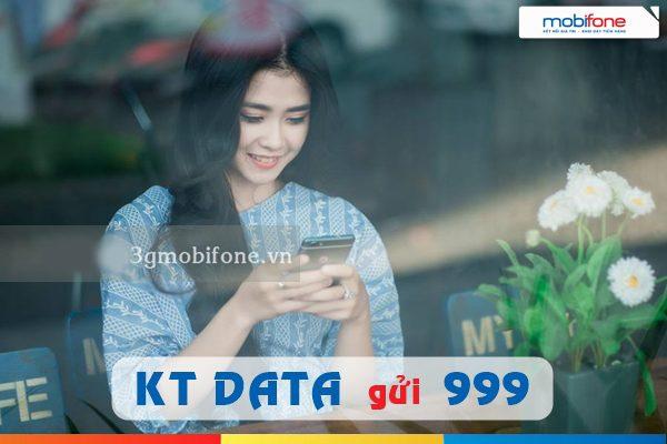 cách kiểm tra dung lượng 4G Mobifone