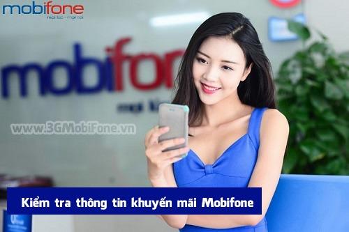 Cách tra cứu kiểm tra thông tin khuyến mãi Mobifone mới nhất 2017