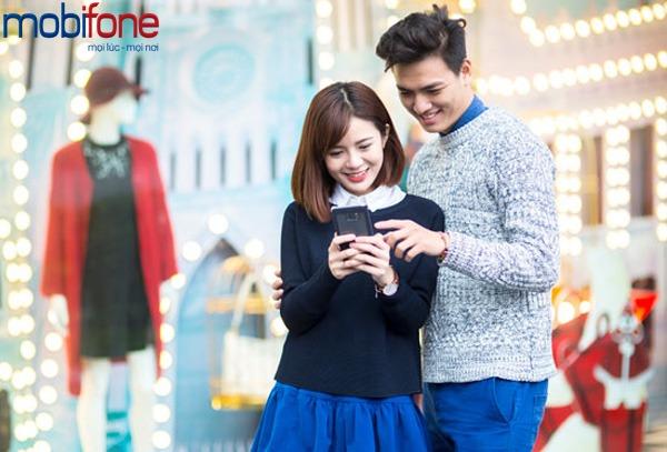 khuyến mãi Mobifone tặng 50% giá trị thẻ nạp ngày 7/4/2017
