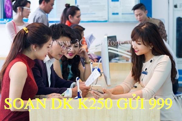 Đăng ký gọi K250 Mobifone miễn phí 450 phút gọi suốt 30 ngày