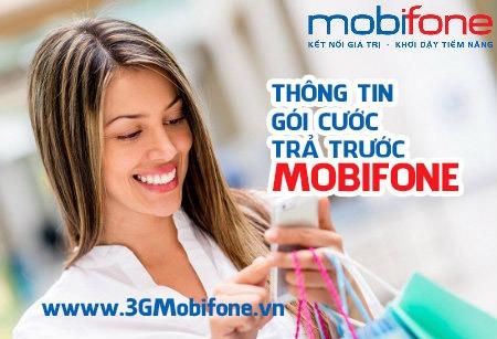 Thông tin chi tiết các gói cước Mobifone trả trước mới nhất 2017