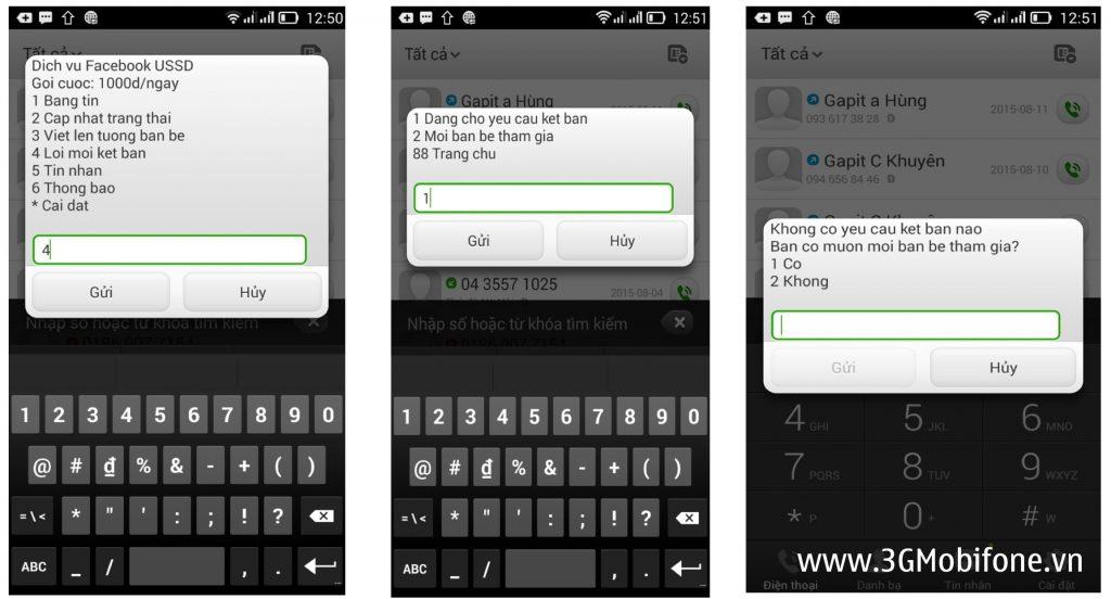 """Cách đăng ký gói Facebook USSD Mobifone lướt """"Phây"""" không cần 3G"""