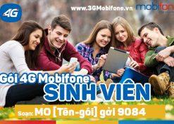 Cách đăng ký gói cước 4g mobifone cho sim sinh viên