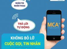 Đăng ký cuộc gọi nhỡ Mobifone Dịch vụ MCA Mobifone