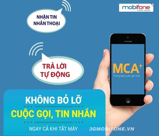 Đăng ký dịch vụ MCA Mobifone