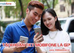 Thông tin và cách sử dụng tài khoản TK1 Mobifone cực hữu ích