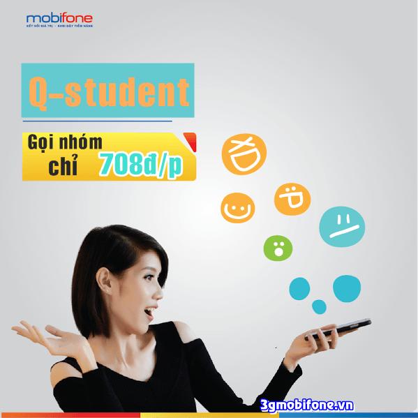 Đăng ký gọi nhóm sinh viên Mobifone 7008đ/phút