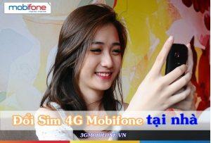 Đổi Sim 4G Mobifone tại nhà nhanh chóng