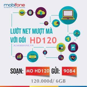 Đăng ký Gói cước HD120 Mobifone