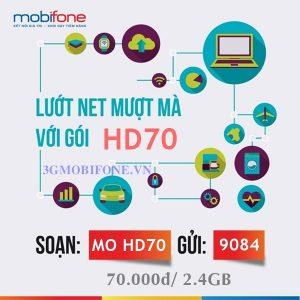 Đăng ký Gói cước HD70 Mobifone