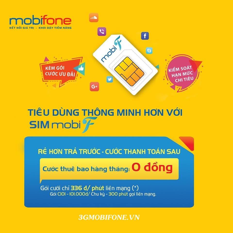Thông tin gói cước MobiF Mobifone