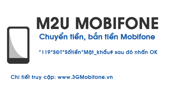 Hướng dẫn cách chuyển tiền Mobifone , bắn tiền Mobifone