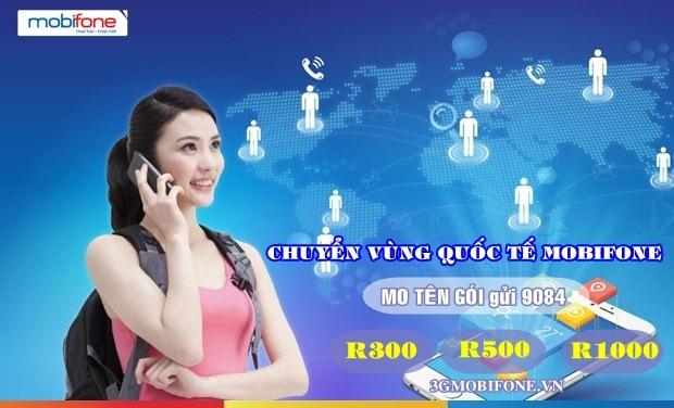 Dịch vụ Chuyển vùng quốc tế Mobifone