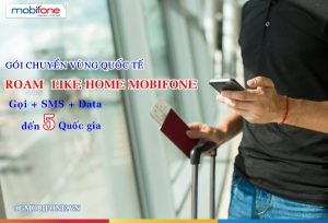 Đăng ký Gói Roam Like Home Mobifone