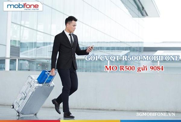 Gói cước CVQT R500 Mobifone