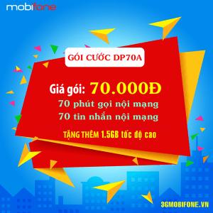 Thông tin Gói DP70A Mobifone