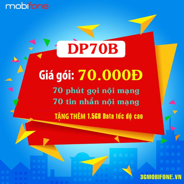 Thông tin gói DP70B Mobifone