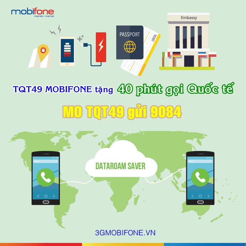 Thông tin đăng ký Gói TQT49 Mobifonea