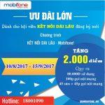 Thông tin Khuyến mãi đăng ký hội viên Kết Nối Dài Lâu Mobifone