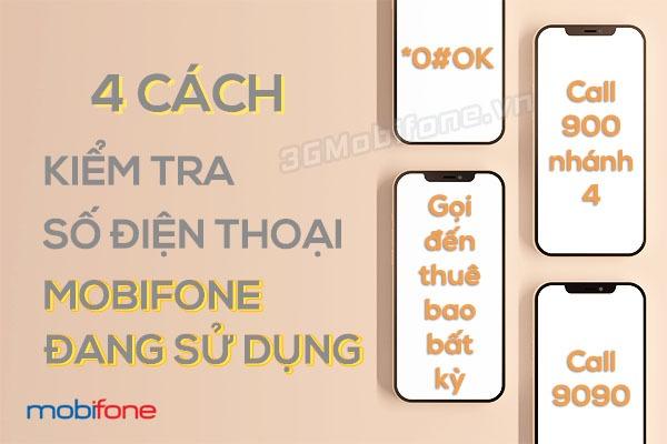 Hướng dẫn kiểm tra số điện thoại Mobifone đang sử dụng