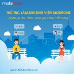 Thủ tục đăng ký làm sim sinh viên Mobifone mới nhất 2017