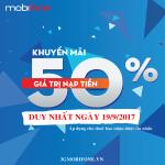 Chương trình Mobifone khuyến mãi ngày 19/9