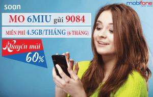 Cách đăng ký gói MIU Mobifone 6 tháng