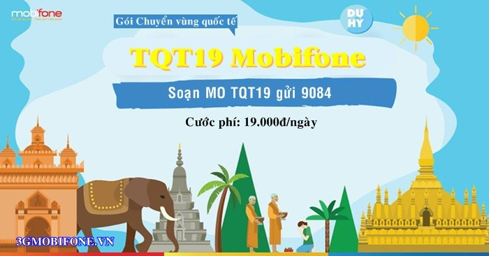 Đăng ký Gói cước TQT19 Mobifone