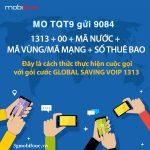 Đăng ký Gói cước TQT9 Mobifone
