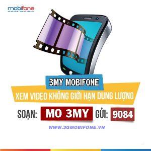 Đăng ký gói cước 3MY Mobifone