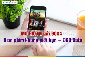 Đăng ký gói cước HDFIM Mobifone