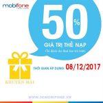 Chương trình Mobifone khuyến mãi ngày 8/12
