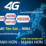 Bảng giá các gói cước 4G Mobifone mới nhất 2018 - 4G Mobifone