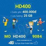 Hướng dẫn đăng ký gói HD400 Mobifone