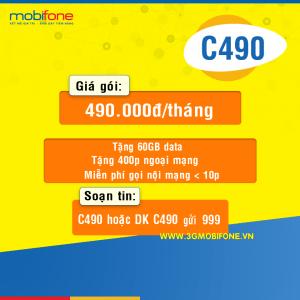 Đăng ký gói C490 Mobifone
