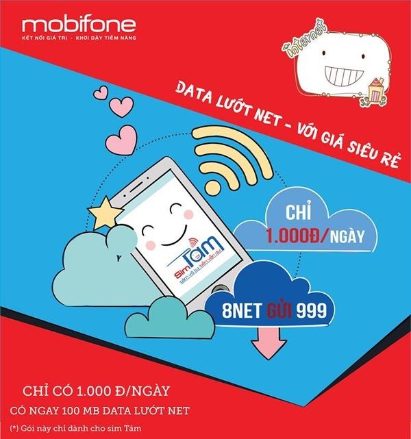Đăng ký gói 8NET Mobifone