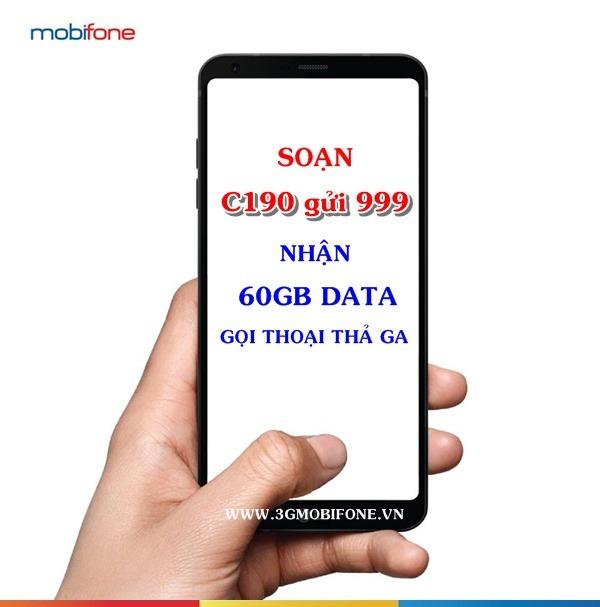 Đăng ký gói C190 Mobifone