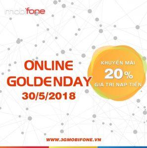 Chương trình Mobifone khuyến mãi ngày 30/5/2018