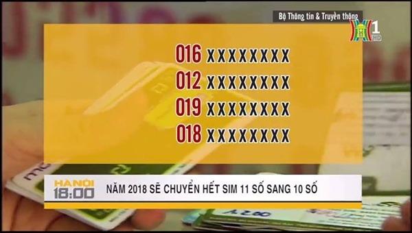 Thông tin Sim 11 số chuyển sang 10 số