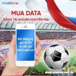 Cách Đăng ký 3G Mobifone bằng tài khoản khuyến mãi